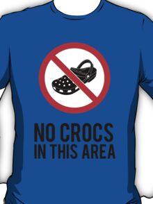NO CROCS V.1 T-Shirt