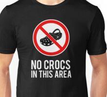 NO CROCS V.2 Unisex T-Shirt