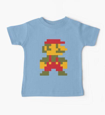 8 bit Mario V.2 Baby Tee