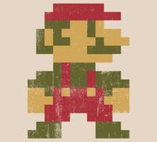 8 bit Mario V.1 by Madkristin