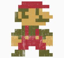 8 bit Mario V.1 Kids Clothes