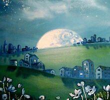 Moon Rise City by Cherie Roe Dirksen
