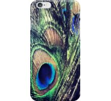 Peacock Feather's Color iPhone Case/Skin