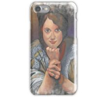 Missing You German Woman In Traditional Dress  iPhone Case/Skin