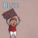 Claret and Blue by Calum Margetts Illustration