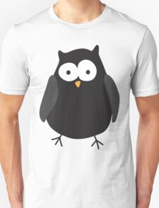 Quirky cartoon night owl Unisex T-Shirt