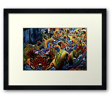 Chinese Dragons Framed Print