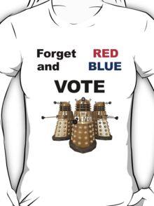 Vote Dalek! T-Shirt