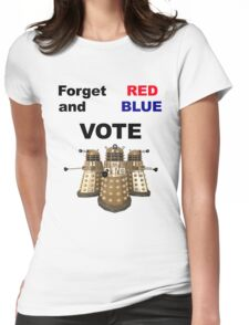 Vote Dalek! Womens Fitted T-Shirt