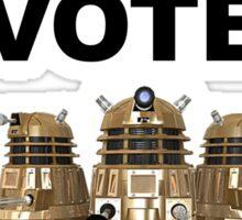 Vote Dalek! Sticker