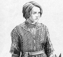 Arya Stark by Alessia Pelonzi