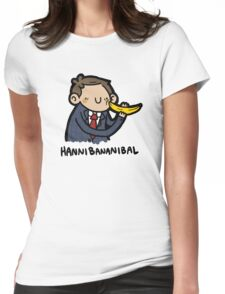 Hannibananibal Womens Fitted T-Shirt