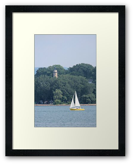 Erie Land Light by Bob Hardy