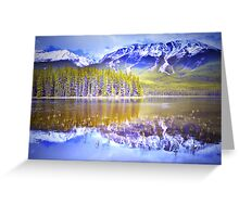 Reflections at Buck Lake Greeting Card