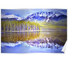 Reflections at Buck Lake Poster