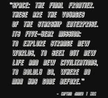 Star Trek Original Titles (white) by Marjuned
