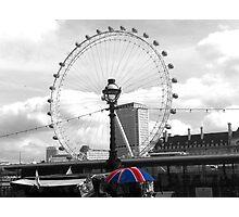 London Eye Photographic Print
