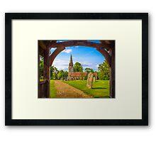 St Gregorys Welford Framed Print