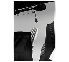 Downtown New York 03 - Lamp pole Poster