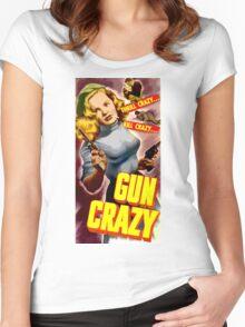Classic Gun Crazy Women's Fitted Scoop T-Shirt