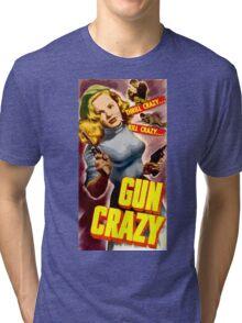 Classic Gun Crazy Tri-blend T-Shirt