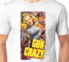 Classic Gun Crazy Unisex T-Shirt