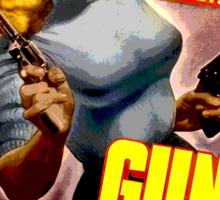 Classic Gun Crazy Sticker