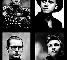 Depeche Mode :  101 poster by Luc Lambert