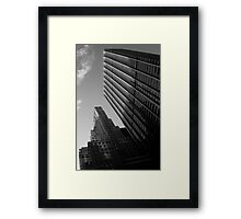 Downtown New York 07 - Airplanes Framed Print