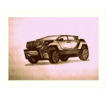 New Concept SUV Art Print