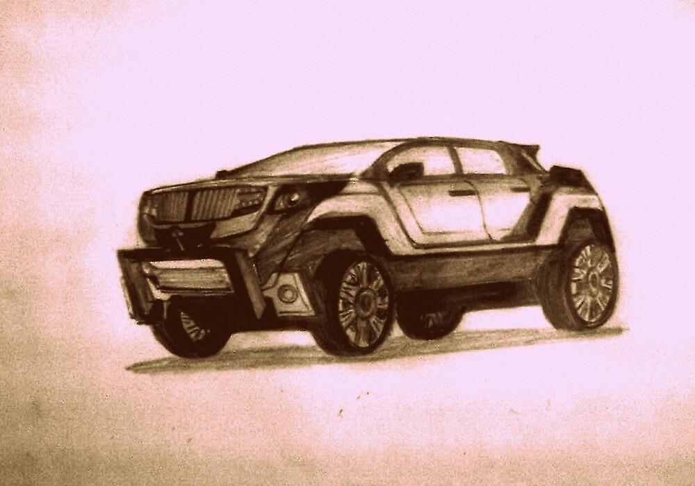 New Concept SUV by Pradeep Yadav