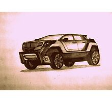 New Concept SUV Photographic Print