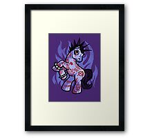 My Punkrock Pony Framed Print