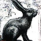 ROA Graffiti Artwork, Rabbit by GraffArt Tees