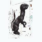 ROA Graffiti Artwork, Ferrett by GraffArt Tees