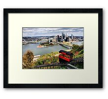 Pittsburgh from Dusquesne Incline Framed Print