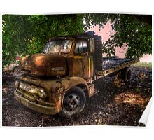 Out Of The Past ~ 1953 Ford C-600 Poster