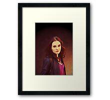 Meg 2.0 Framed Print