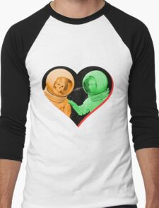 Love & Death Space Style Men's Baseball ¾ T-Shirt