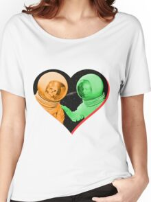 Love & Death Space Style Women's Relaxed Fit T-Shirt