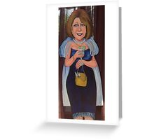 Silverware Thief Greeting Card