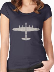 Avro Lancaster Women's Fitted Scoop T-Shirt