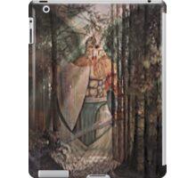 black forest angel iPad Case/Skin