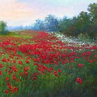 Field Of Poppies by Christine Bass