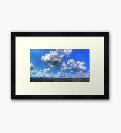 ©HCS To Much Clouds HDR Cumolonimbus Congestus Framed Print