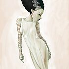 Bride of Frankenstein by CartoonPink