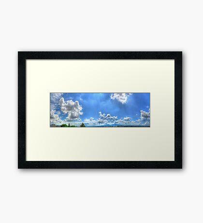©HCS Always On My Sky Framed Print
