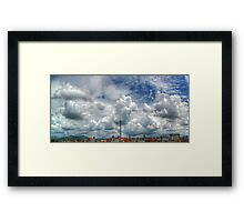 ©HCS To Much Clouds HDR Framed Print