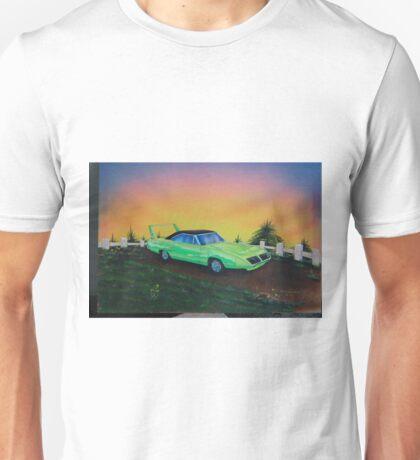 Mopar superbird - 70's muscle car Unisex T-Shirt