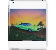 Mopar superbird - 70's muscle car iPad Case/Skin